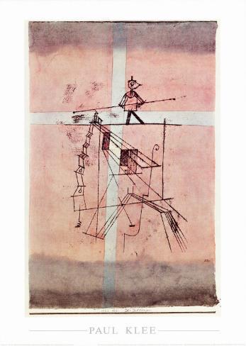 Seiltanzer Art Print