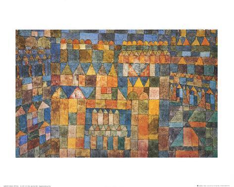 Tempelviertel von Pert, c.1928 Art Print