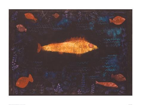 The Golden Fish, c.1925 Giclee Print