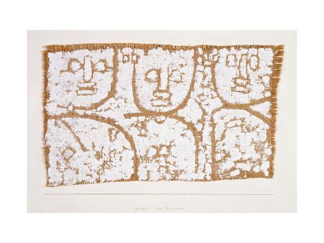 Three Figures Lámina giclée