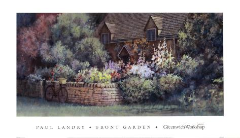 Front Garden Art Print