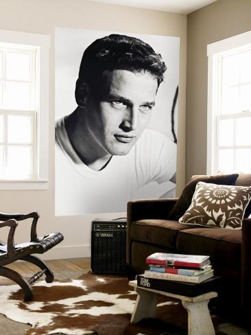 Paul Newman Wall Mural
