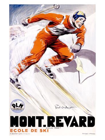PLM, Mont Revard Giclee Print