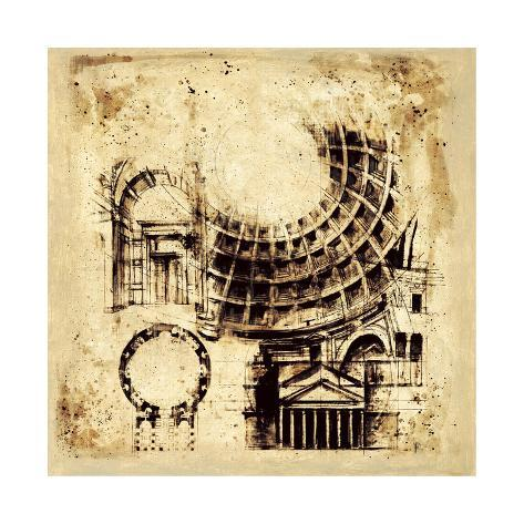 Architectorum II Giclee Print