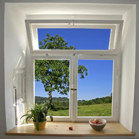 窓の眺め 写真プリント