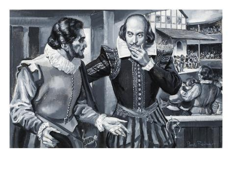 Who Said...? Ben Johnson and William Shakespeare Giclee Print