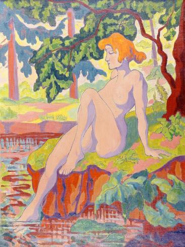 The Bather, 1898 Lámina giclée
