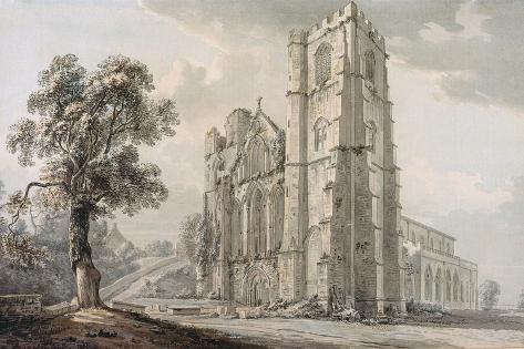 Llandaff Cathedral Lámina giclée