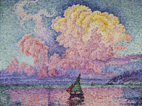 The Pink Cloud (Antibes), 1916 Giclee Print