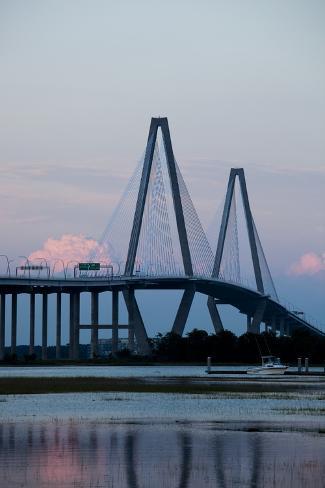 Cooper River Bridge, Charleston, South Carolina Valokuvavedos