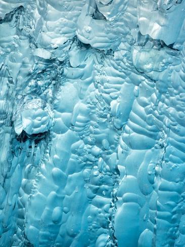 Detail of Iceberg in Holkham Bay Photographic Print