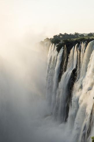 Victoria Falls, Mosi-Oa-Tunya National Park, Zambia Photographic Print