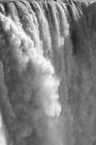 Zambezi River and Victoria Falls, Zimbabwe Photographic Print