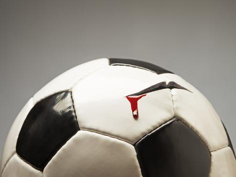 Soccer ball Photographic Print