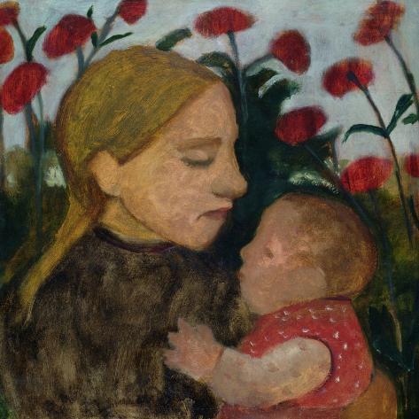 Mother and Child, c.1904 Lámina giclée