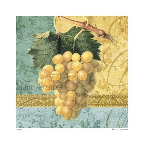 Grapes Collage Giclée-vedos