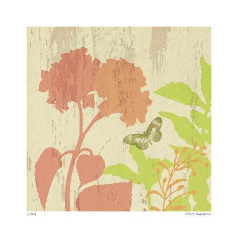 Modern botanic iv giclee print by paula scaletta at for Modern art prints posters