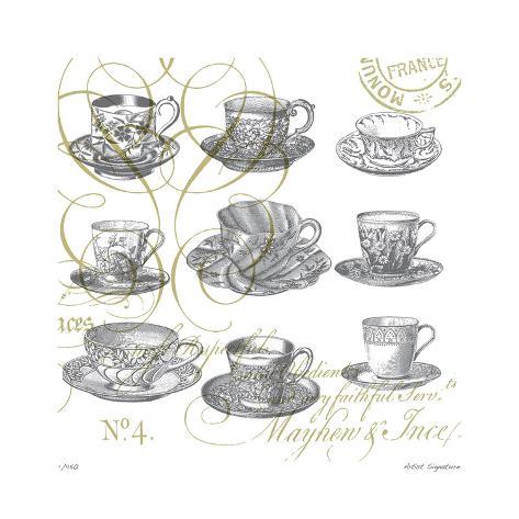 Teacups Giclée-vedos