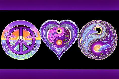 Peace Love And Happiness Prints At AllPosters Mesmerizing Love Peace Happiness