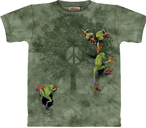 Peace Tree Frog T-Shirt