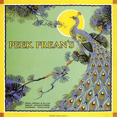 Peak Frean's Stretched Canvas Print