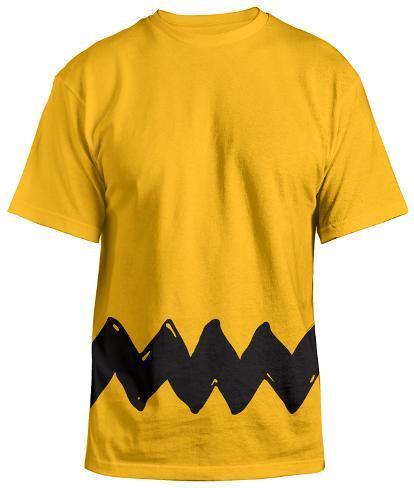 Peanuts - Charlie Brown Costume Tee Tシャツ