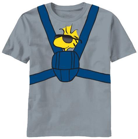 Peanuts - Woodstock Carrier T-Shirt