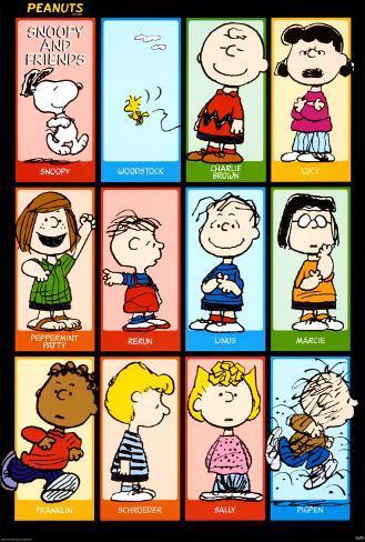Peanuts Pósters en AllPosters.es
