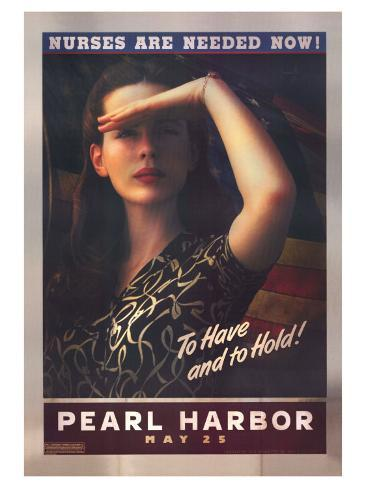 Pearl Harbor, 2001 Stretched Canvas Print