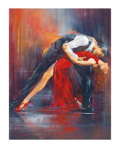 Tango Nuevo II Art Print