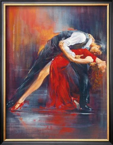Tango Nuevo II Framed Art Print