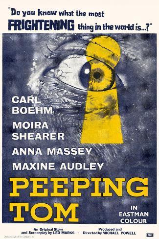 Peeping Tom Art Print
