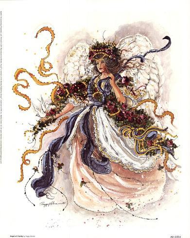 Angel Of Charity Art Print
