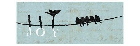 Birds on a Wire Premium Giclee Print