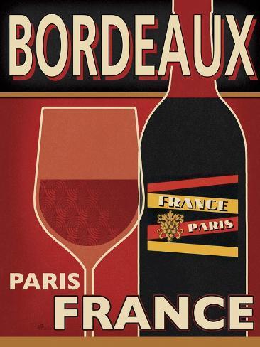 Bordeaux Premium Giclee Print