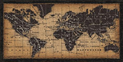 Old world map print by pela design allposters old world map print gumiabroncs Images