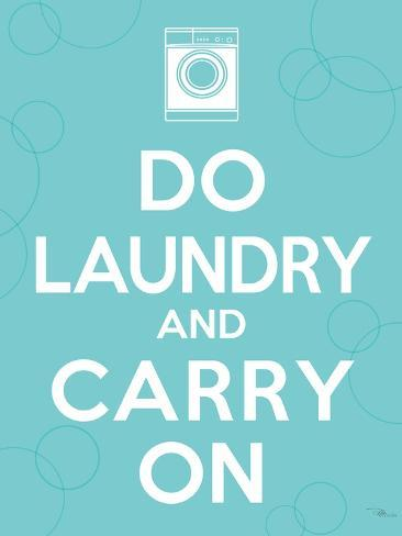 Laundry On I Premium Giclee Print