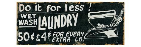 Vintage Sign I Premium Giclee Print