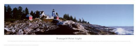 Pemaquid Point Light Art Print