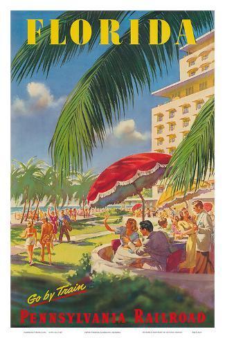 Pennsylvania Railroad, Florida Art Print