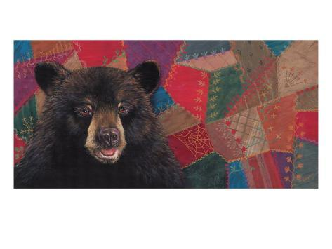 The Heirloom Bear Quilting Society Stampa giclée premium