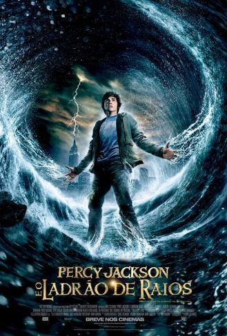 Percy Jackson & the Olympians: The Lightning Thief - Brazilian Style Poster