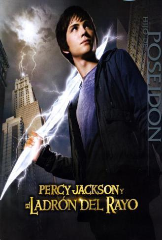 Percy Jackson & the Olympians: The Lightning Thief - Spanish Style Poster