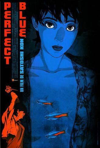 Perfect Blue - French Style Poster