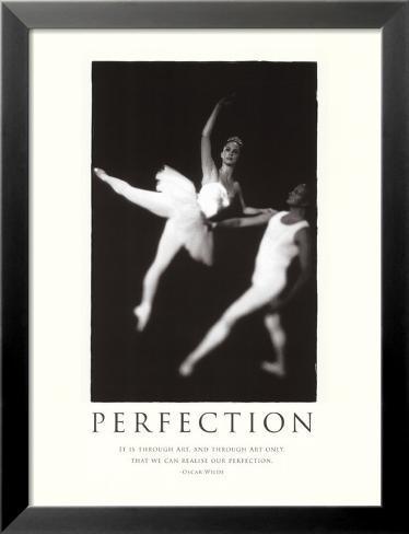 Perfection Lamina Framed Art Print