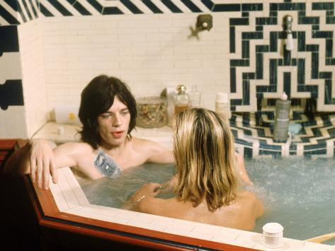 Performance, Mick Jagger, Anita Pallenberg, 1970 写真