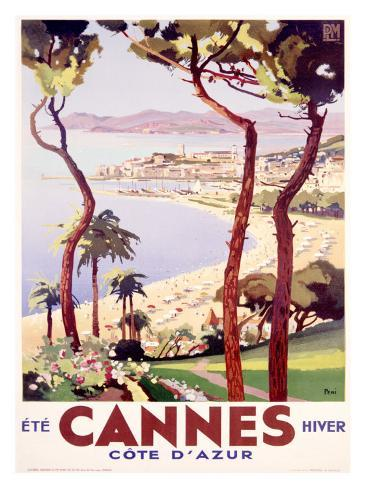 Cannes Giclee Print