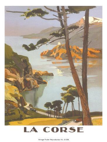 Corse Art Print