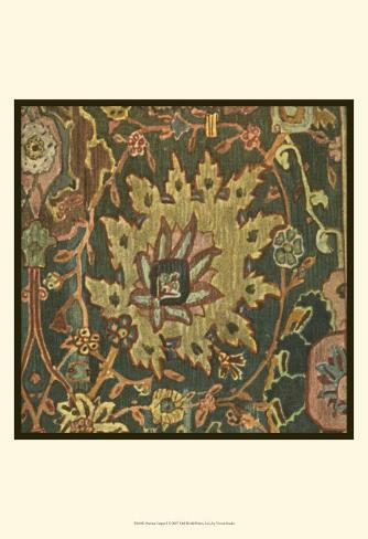 Persian Carpet I Art Print