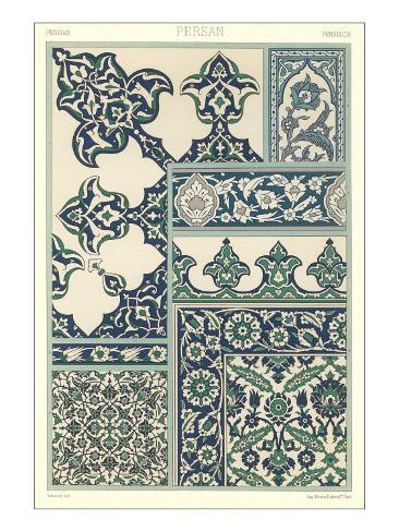 Persian Decorative Arts Art Print